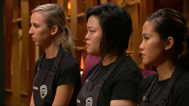 Sarah Tiong's time on MasterChef is done.