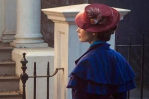 Emily Blunt as Mary Poppins.
