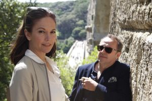 Diane Lane and Arnaud Viard meander their way through Paris Can Wait.