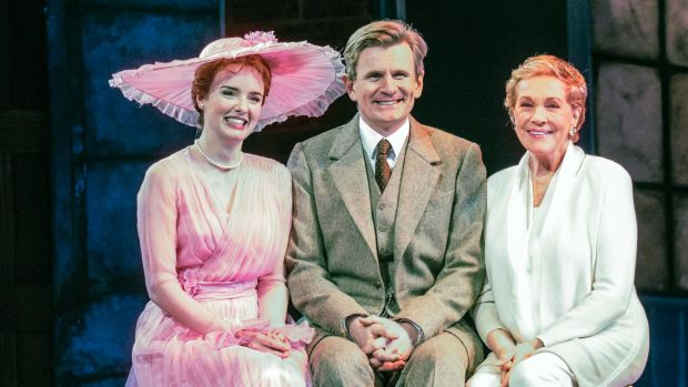 Charles Edwards says playing Professor Higgins in <i>My Fair Lady</I>, which stars Anna O'Byrne (left) as Eliza ...