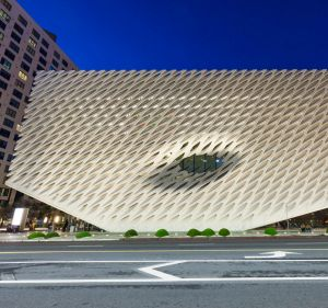 The Broad, located in Downtown, is LA's newest art museum.
