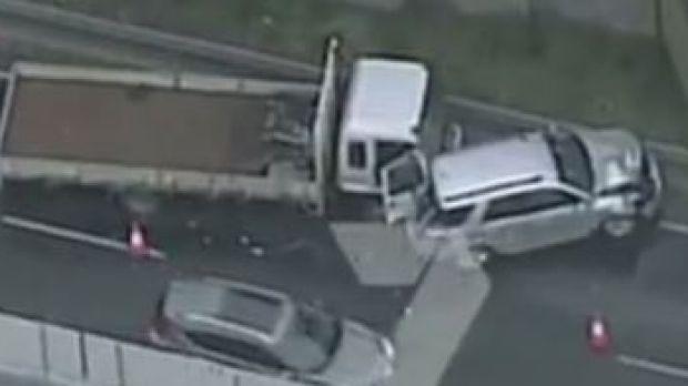 Car Crash Monash Freeway