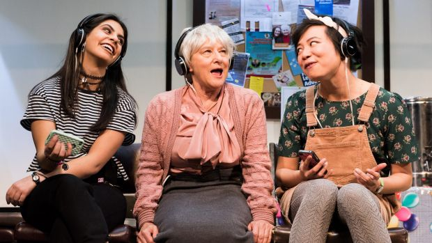 The stage hit Hello, Goodbye and Happy Birthday is script crafted from real-life conversations