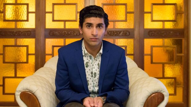 Osamah Sami plays the lead role in Ali's Wedding.