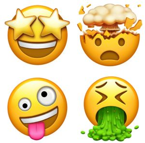 The vomiting emoji is among those approved by Unicode.
