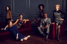 The cast of <I>The Good Fight</I>.