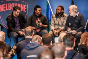Melbourne launces its reconciliation action plan.
