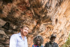 EMBARGOED TILL 3AM 20/07/17 EST - Discoveries at this rock shelter on a lease surrounded by Kakadu National Park has ...