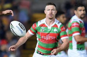 Rabbitohs hooker Damien Cook is back in first grade.