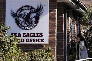 NRL investigators descended on Manly headquarters on Wednesday.