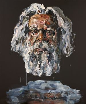 Anh Do's winning portrait of Jack Charles.