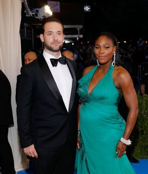 Reddit co-founder Alexis Ohanian with fiance Serena Williams.
