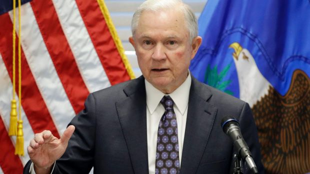 US Attorney General Jeff Sessions says marijuana has no accepted medical use under federal law.
