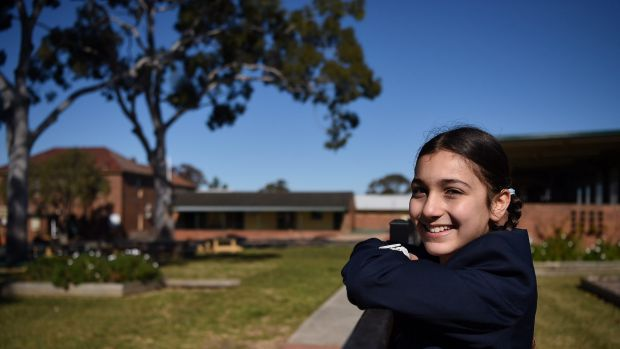 """Layelle Etri, in a Year 6 opportunity class at Blaxcell Street Public School, said she """"wasn't really learning much"""" in ..."""