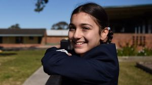 "Layelle Etri, in a Year 6 opportunity class at Blaxcell Street Public School, said she ""wasn't really learning much"" in ..."
