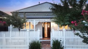This double-fronted Kingsville home sold for $1.2 million at auction in March.