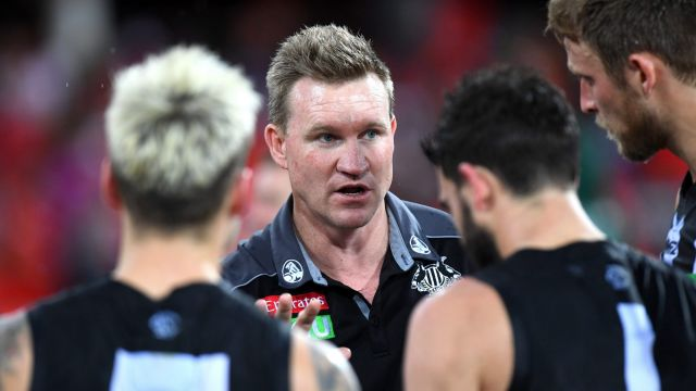 "Nathan Buckley says ""external narratives"" will have little impact on Collingwood's review."