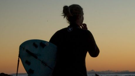 Sports enthusiasts' dilemma: surf board or snowboard?