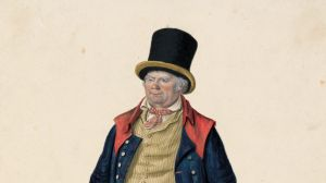 Beadle, Winchester, 1823 by John Dempsey in Dempsey's People at the National Portrait Gallery. Collection: Tasmanian ...