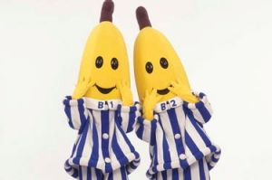 The Bananas in Pyjamas are an iconic Aussie bros team.