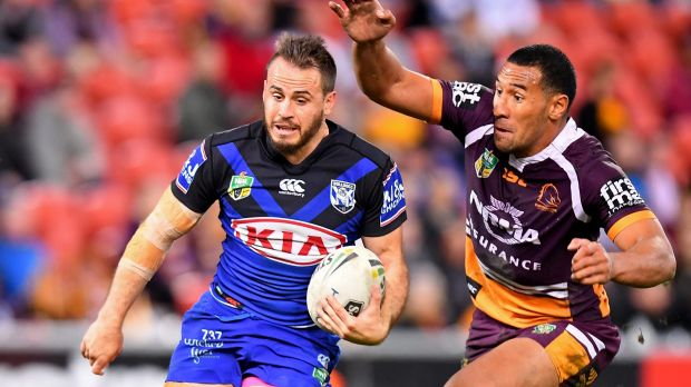 All but over: Josh Reynolds will almost certainly end his Bulldogs tenure short of another finals appearance.