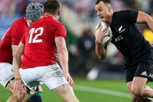 Red wall: The Lions conceded five tries across three Tests against the All Blacks.