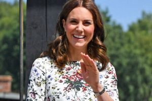Catherine, Duchess of Cambridge visit the former Nazi German concentration camp.