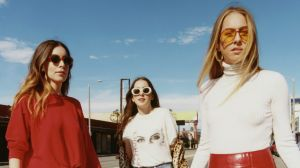 Alana, Danielle and Este Haim are touring Australia including a set at Splendour in the Grass.