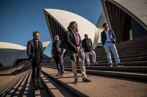 Design wonder, Sydney Opera House, woos visiting members of the World Design Organisation.