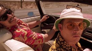 The BBQ shirt featured prominently in the film Fear and Loathing in Las Vegas.