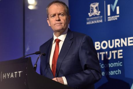 Opposition Leader Bill Shorten flagged more redistributive policies at the Melbourne Institute outlook conference last week.