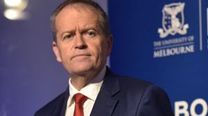 Opposition Leader Bill Shorten flagged more redistributive policies at the Melbourne Institute outlook conference on Friday.