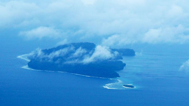 Run, a tiny island in Indonesia, is about three kilometres long and one kilometre wide.