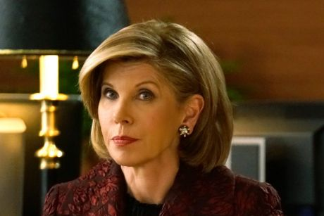 Christine Baranski as Diane Lockhart and Cush Jumbo as Lucca Quin in The Good Fight.