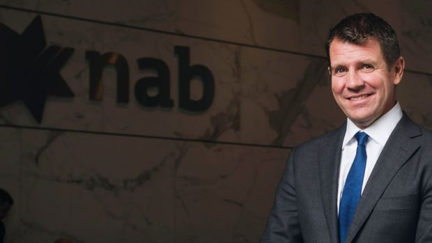 Mike Baird, former NSW premier and now senior NAB executive.