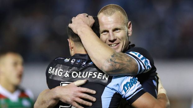 Happy 300th: Luke Lewis celebrated the milestone in style.