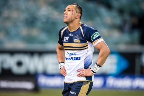 21 July 2017. Super Rugby Quarter Final. ACT Brumbies v Wellington Hurricanes at Canberra Stadium. There was no ...