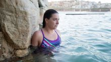 Rachelle Silver, in Bronte Ocean Pool, will be attempting to swim across the English Channel to raise awareness for ...
