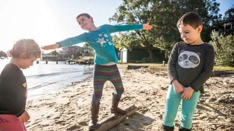 Seven-year-old Nicholas Demetriou hasn't got time for gender stereotypes. He chooses clothes that he likes, regardless ...