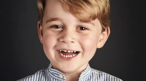 A new portrait of Prince George has been released for his fourth birthday.