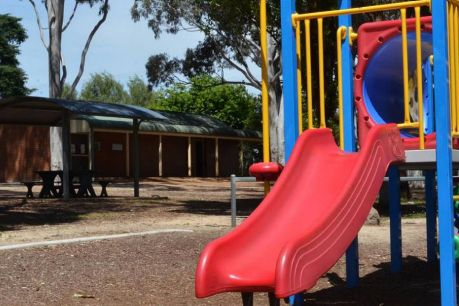 The girl said she was molested in the public toilets of a park in Orange.