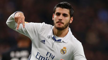 Heading to London: Chelsea have announced the signing of Alvaro Morata.