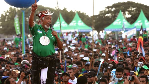 Fretilin leads in East Timor election