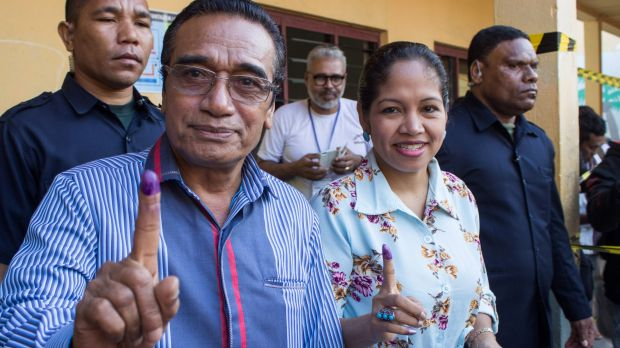 Corruption on voters' minds in East Timor