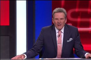 Sam Newman in an earlier edition of The Footy Show.