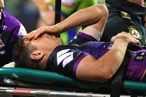Billy Slater had no memory of the previous two weeks after the hit by Sia Solioloa.