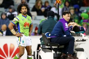 Dropped him: Senior NRL review official Bernard Sutton has taken the bullet for failing to send off Sia Soliola for last ...