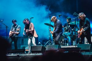 Powderfinger  played an impromptu reunion set at Splendour in the Grass.