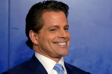 Anthony Scaramucci, incoming White House communications director at the daily White House press briefing.
