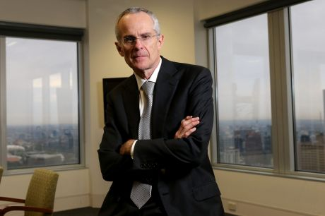 """ACCC chairman Rod Sims says  the impact of the """"four pillars"""" policy on competition in banking deserves """"serious thought""""."""